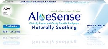 Aloe Sense Package 5 ounce fresh mint